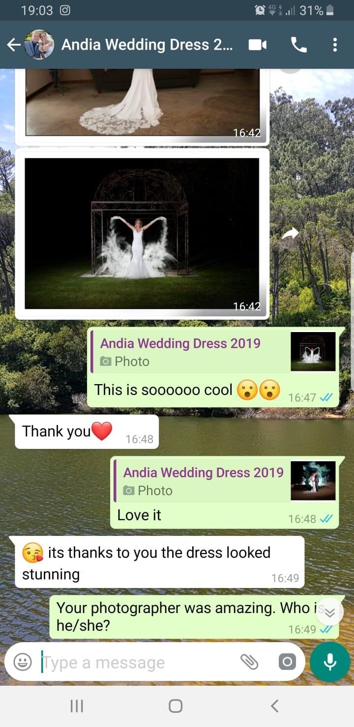 Andia wedding dress review 2