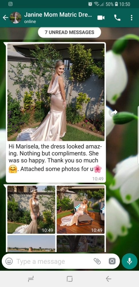 Janine - Prom Dress Review & Feedback