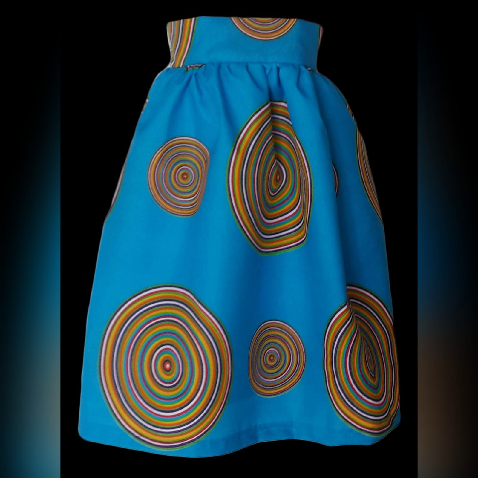 Matching venda traditional outfits for the family 4 venda traditional matching family items. Ladies high waisted skirt and girls matching skirt. With men's matching shirt.