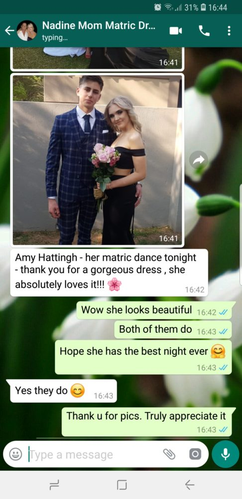 Nadine - Prom Dress Review