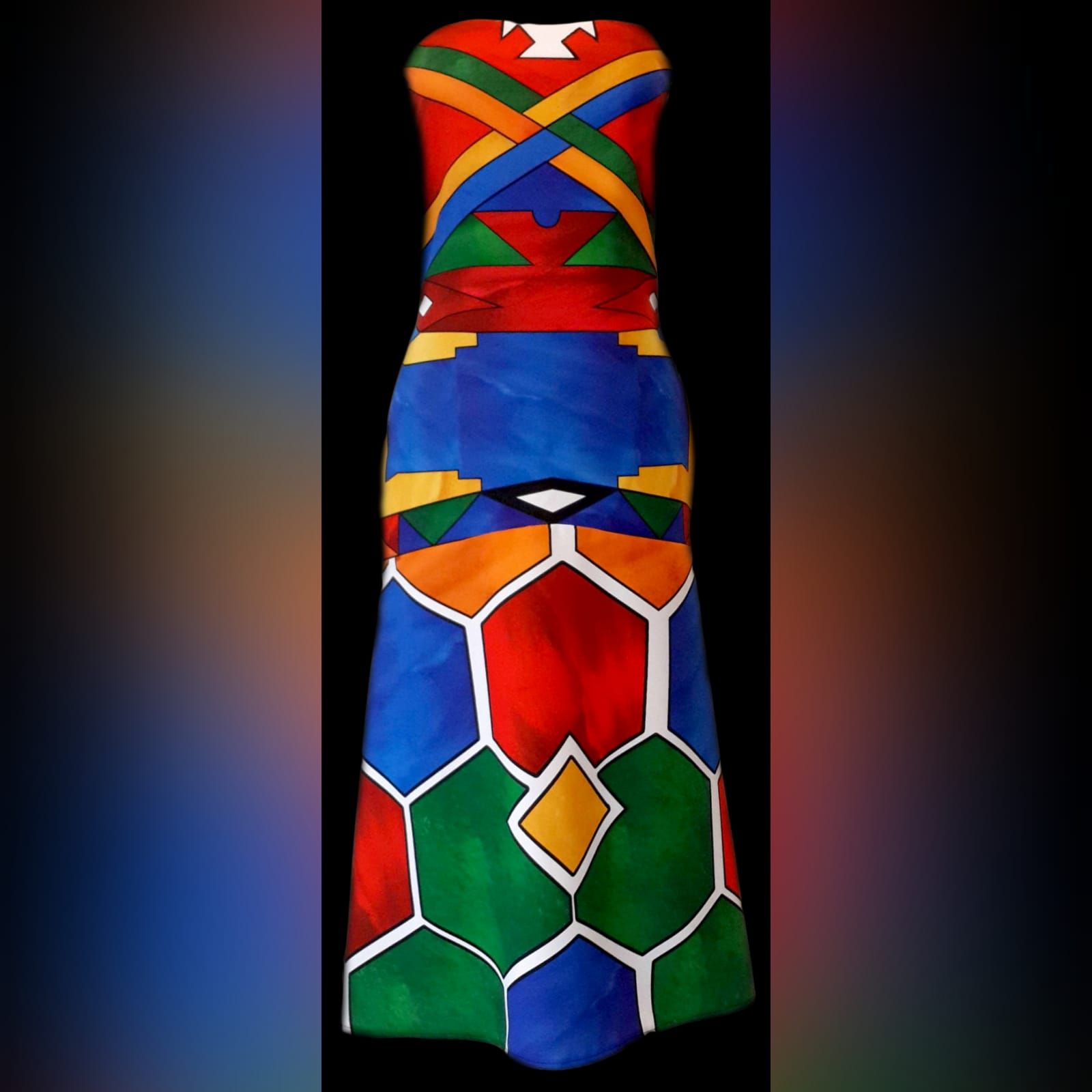 Ndebele traditional wedding dress 2 ndebele traditional wedding dress. Boob tube traditional wedding dress and fitted till the hips and flowy.
