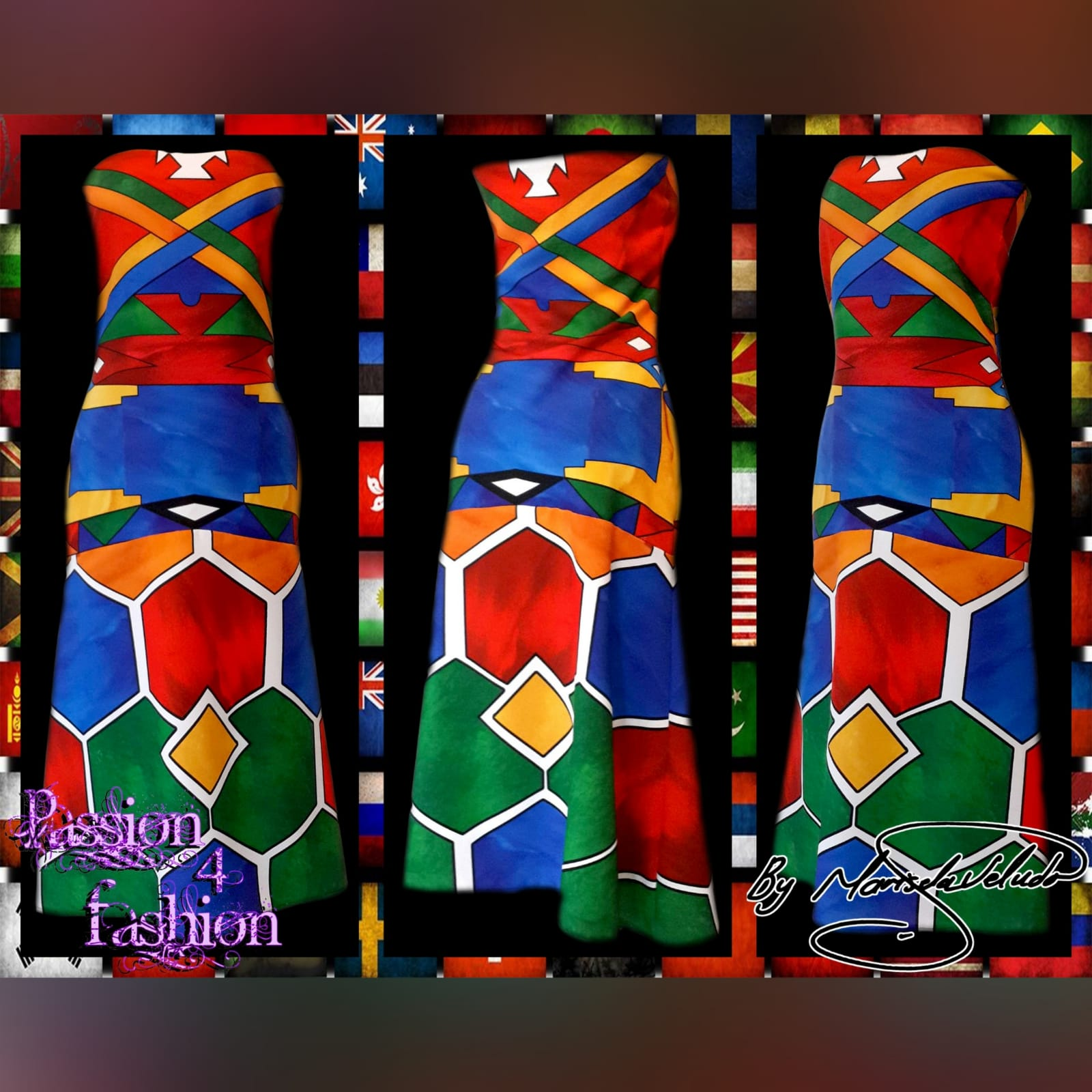 Ndebele traditional wedding dress 3 ndebele traditional wedding dress. Boob tube traditional wedding dress and fitted till the hips and flowy.