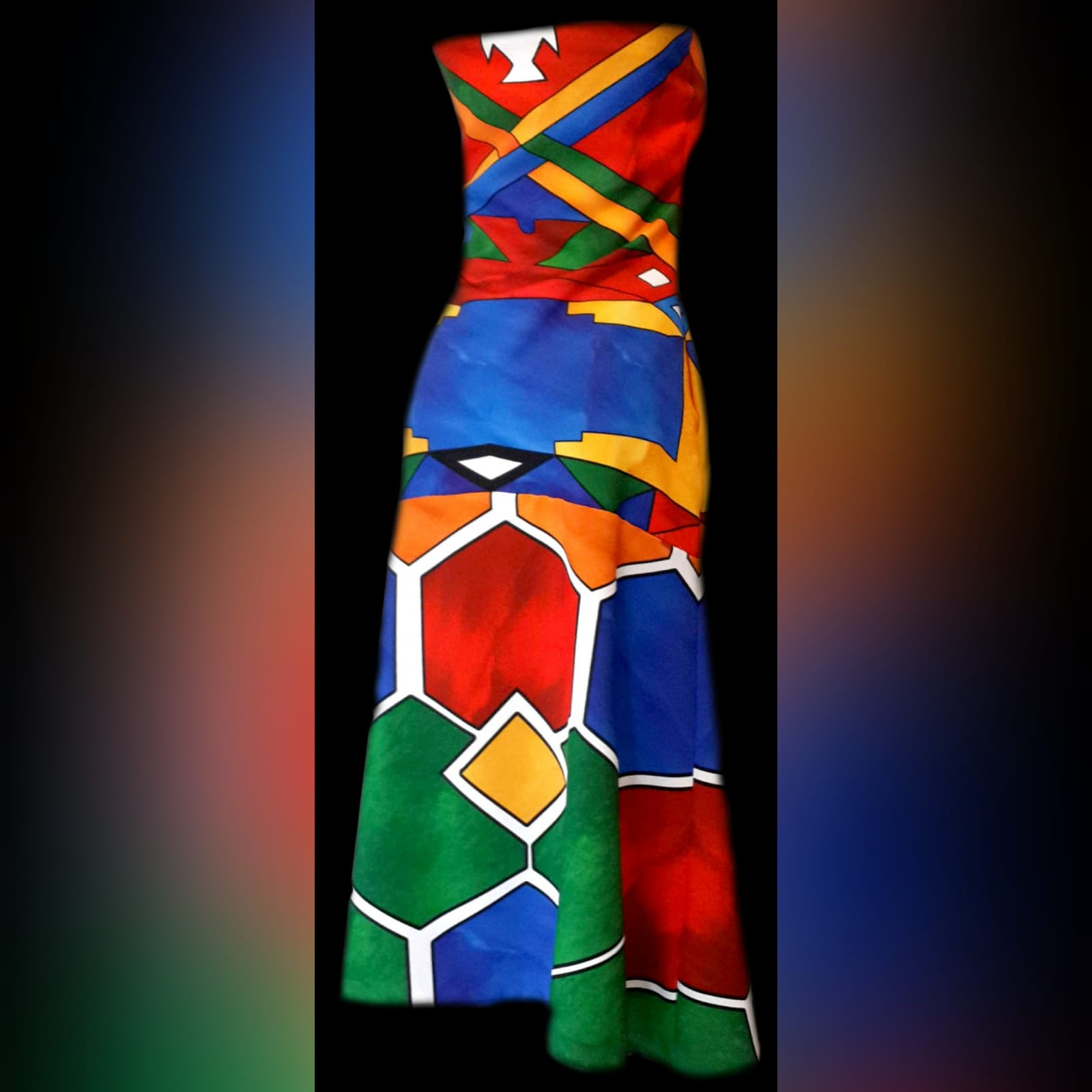 Ndebele traditional wedding dress 4 ndebele traditional wedding dress. Boob tube traditional wedding dress and fitted till the hips and flowy.