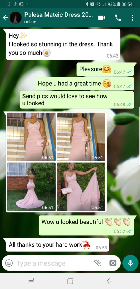 Palesa - prom dress review - 2018