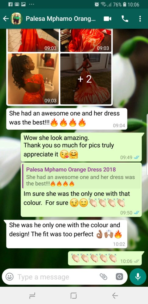 Palesa - Prom Dress Review