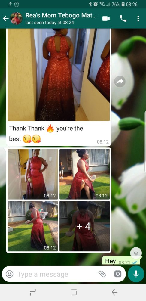 Rea & Tebogo - Prom Dress Review