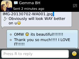Gemma - 2013 - prom dress review