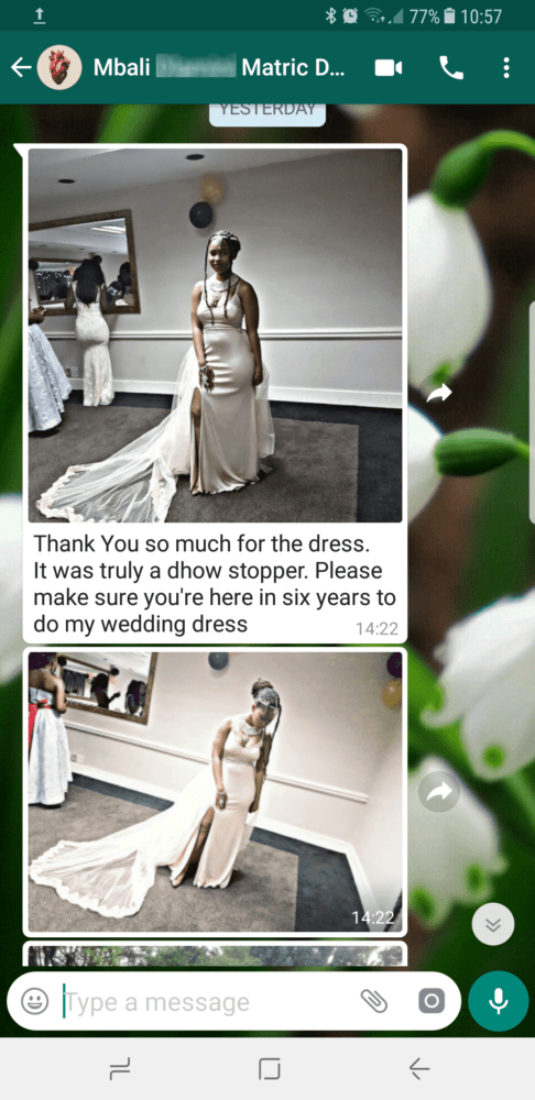 Mbali - 2017 - Wedding Dress Review