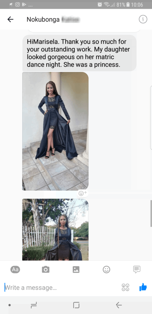 Nokubonga - 2017 - Prom Dress Review