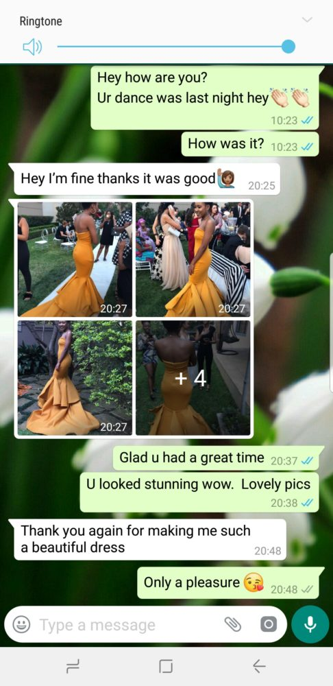 Tlotlo - Prom Dress Review
