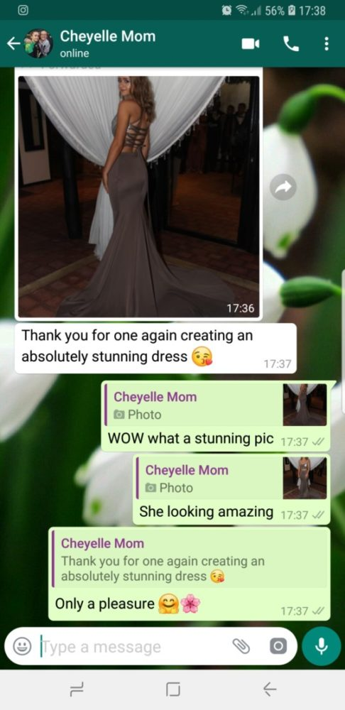 Cheyelle - Prom Dress Feedback