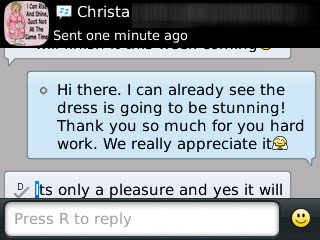 Christa - 2015 - Prom Dress Review