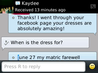Kaydee - 2014 - Prom Dress Review
