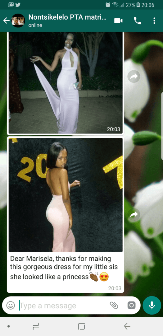 Nontsikelo – 2017 – Prom Dress Review