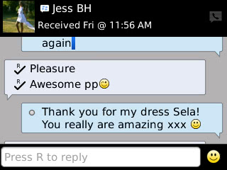 Jess - 2013 - Prom Dress Review