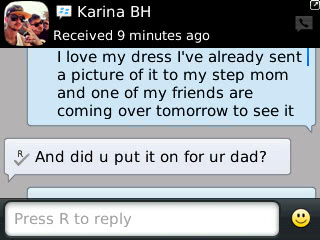Karina - 2013 - Prom Dress Review