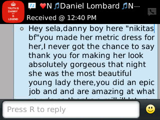 Danny - 2013 - Prom Dress Review