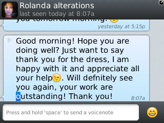 Rolanda - 2013 - Prom Dress Review
