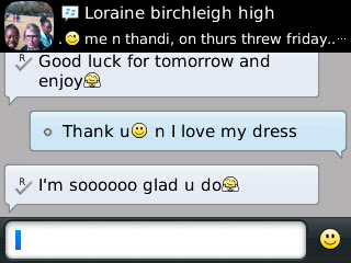 Loraine - 2013 - Prom Dress Review