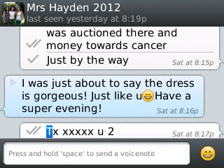 Mrs Hayden - 2013 - General Feedback