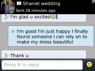 Shaniel # 2 - 2013 - General Feedback