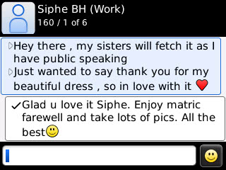 Siphe - 2013 - Prom Dress Review
