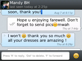 Mandy - 2012 - Prom Dress Review