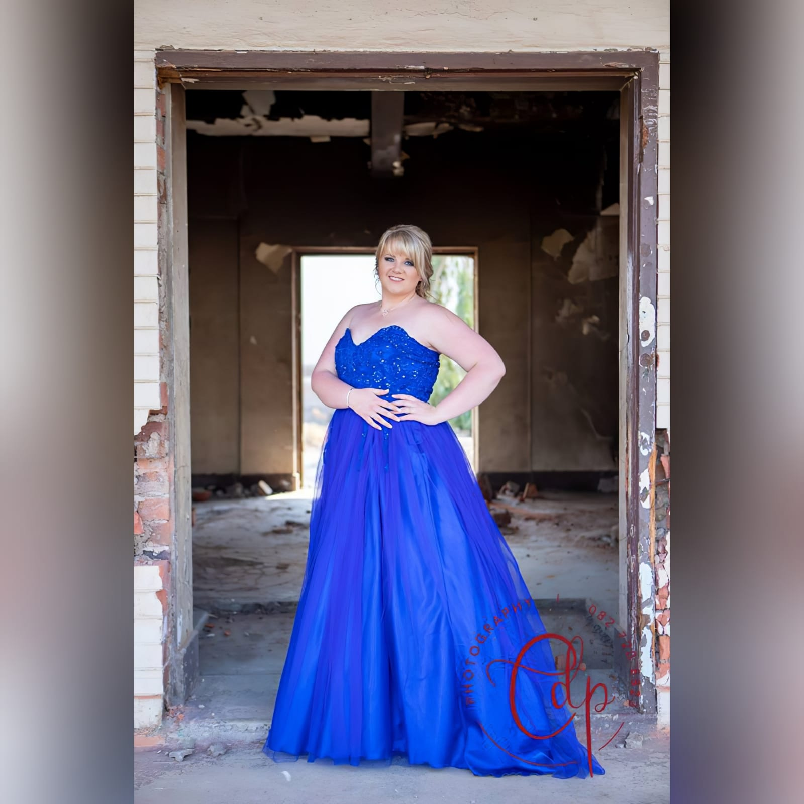 Royal blue boobtube tulle prom dress 1 royal blue boobtube tulle prom dress. Bodice with a sweetheart neckline and detailed with beaded lace falling onto the tulle skirt.