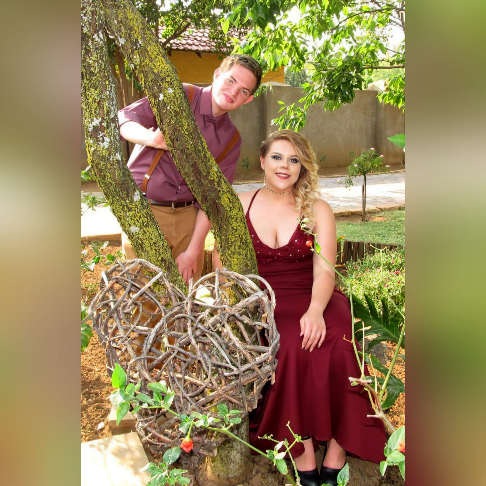 Burgundy soft mermaid plus size prom dress 2 burgundy soft mermaid plus size prom dress. Bodice detailed with lace and silver beads, small triangle opening on the waist with waistband finish. Open laceup back and a train.