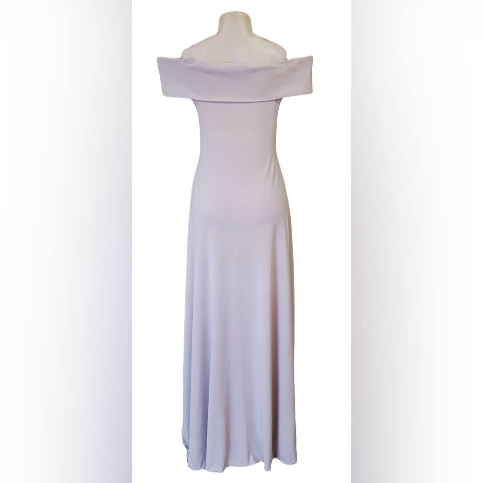 "Simple elegant nude long prom dress 6 <blockquote>""always be a first rate version of yourself and not a second rate version of someone else"" judy garland</blockquote>simple elegant nude long prom dress with an off shoulder cross bust neckline and a slit. A gorgeous design that can be worn to several occasions due to its simplicity."