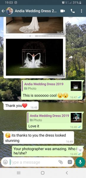Andia Wedding Dress Review 2 2019