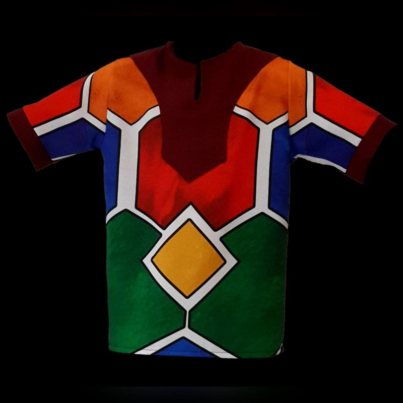 Matching Father & Son Ndebele shirts (3)