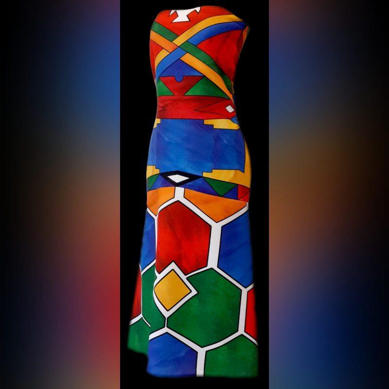 Ndebele traditional wedding dress (4)