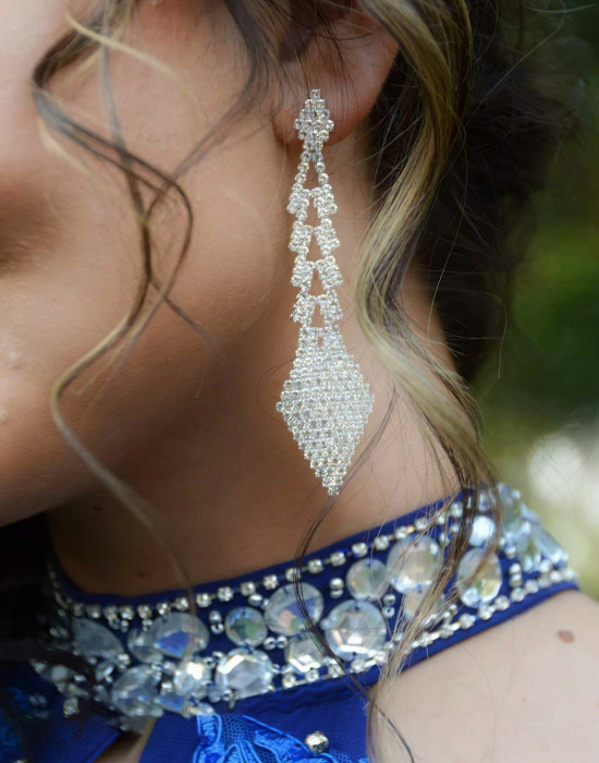 Beaded-royal-blue-dress-detail. Jpg