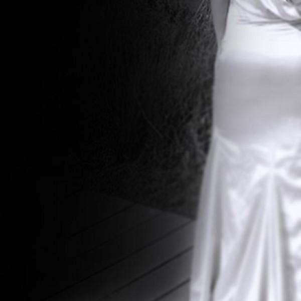 Black-and-white-satin-dress-back-picture-mobile2. Jpg